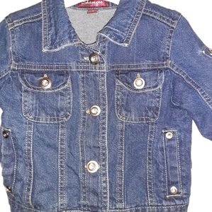 Other - Toddler Girl Denim Jacket